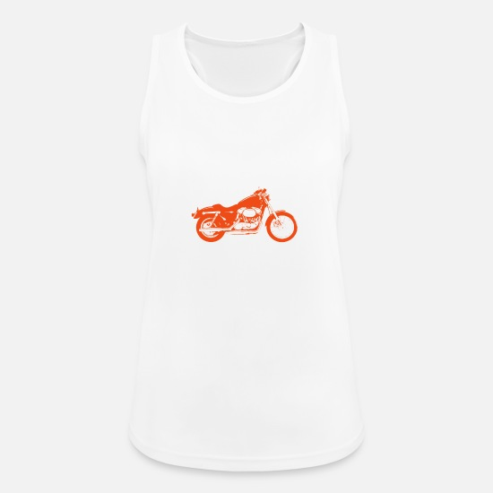 My Tank Tops - I Do not Have My Own Bike But I Have My Own Biker - Women's Sport Tank Top white