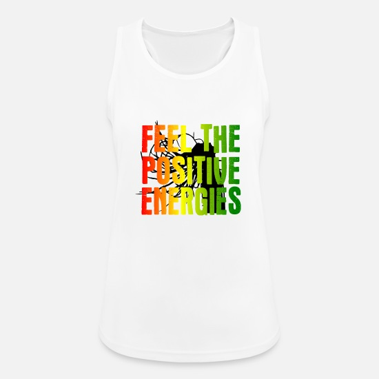 Positive Tank Tops - Positive Energy - Women's Sport Tank Top white