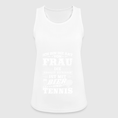 Funny Tennis T Shirt I Am The - Women's Breathable Tank Top