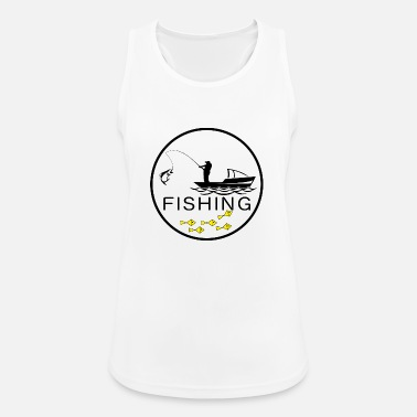 Catching Fishing - A small catch, is also a catch! - Women's Sport Tank Top