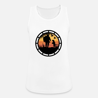 Stag Never mess with a hunter. - Women's Sport Tank Top