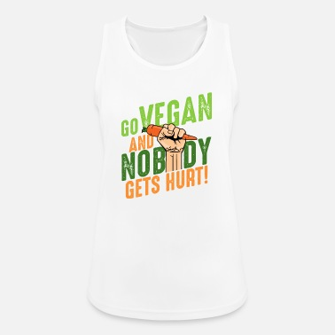 Cheesyb Go vegan and nobody gets hurt Veganer Veganismus - Frauen Sport Tanktop