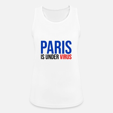 Apocalypse paris er under virus coronavirus covid 19 - Sportsinglet for kvinner