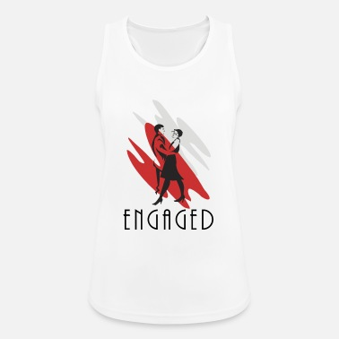 Engagement Engaged - Women's Sport Tank Top