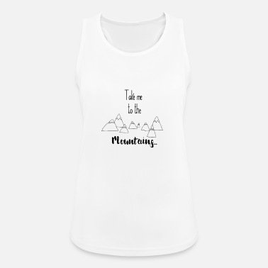 To the mountains - Women's Sport Tank Top