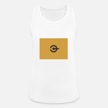 Crypto Bible Logo Design - Vrouwen sport tank top