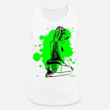Pretty Underwear 2reborn sexy underwear model dream woman - Women's Sport Tank Top