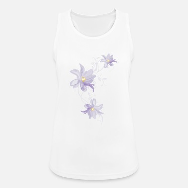 Lilac Lilac tulips - Women's Breathable Tank Top