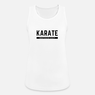 Teenager Karate Entusiast - Sports tanktop dame