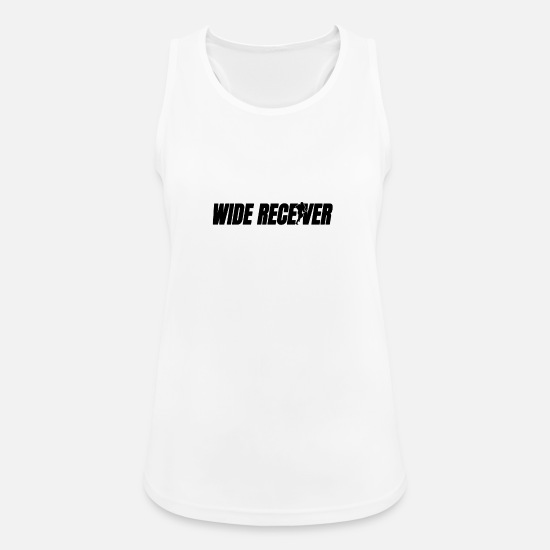 Stadium Tank Tops - Wide receiver american football - Women's Sport Tank Top white