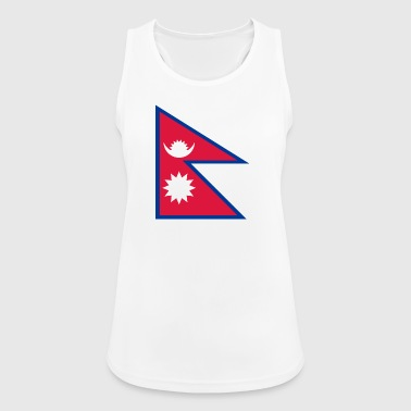 Nationalflagge von Nepal - Frauen Tank Top atmungsaktiv