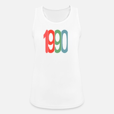 Established Established 1990 - Frauen Tank Top atmungsaktiv