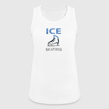 Ice Skating Ice Skating Winter - Women's Breathable Tank Top