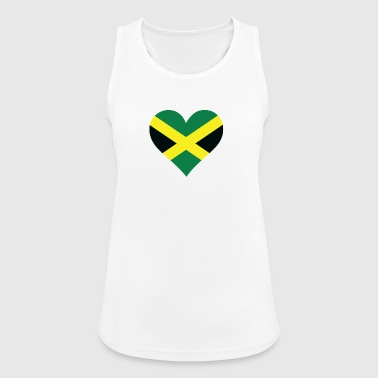 Jamaica A Heart For Jamaica - Women's Breathable Tank Top