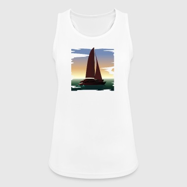 Boat boat - Women's Breathable Tank Top