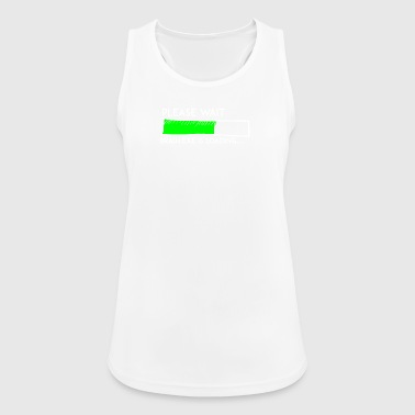Nerdy Nerdy motif, The motive for computer freks - Women's Breathable Tank Top