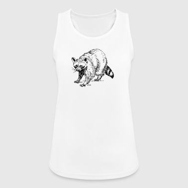 Raccoon raccoon waschbaer baer baby15 - Women's Breathable Tank Top