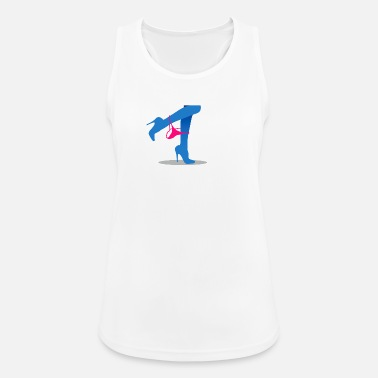 Thong Pretty Woman's Legs With A Thong - Women's Breathable Tank Top