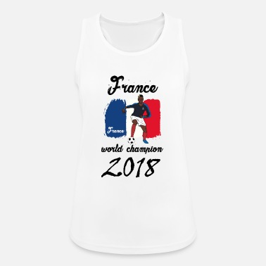 Football France - Women's Breathable Tank Top