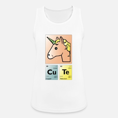 Periodic Table Periodic table cute unicorn - Women's Breathable Tank Top