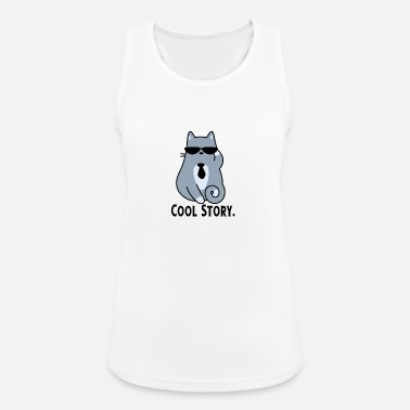 Story COOL STORY CAT - Women's Sport Tank Top