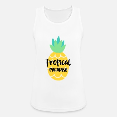 Tropical TROPICAL PARADISE - Women's Breathable Tank Top