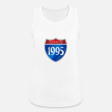 1995 Since 1995 - Women's Breathable Tank Top