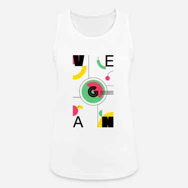 Abstract Vegan - Women's Sport Tank Top