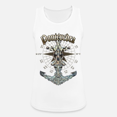 Pontevedra Anchor Nautical Sailing Boat Summer - Women's Sport Tank Top
