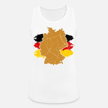 Germania Germania Germania regalo Germania - Top da donna traspirante