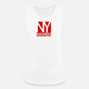 Mambo NY Mambo - New York Mambo Danceshirt - red - Women's Breathable Tank Top
