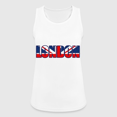 Londres Londres - Camiseta de tirantes transpirable mujer