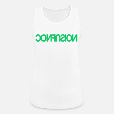 Font Confusion confusion font font - Canotta sportiva donna