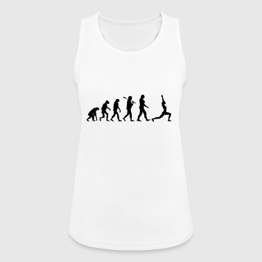 Yoga T-Shirt · Evolution · Meditation · Sport - Frauen Tank Top atmungsaktiv