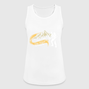CLIMBING: I climb like a girl. Want up! - Women's Breathable Tank Top
