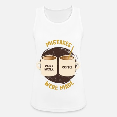 Illustration Mistakes Were Made - Kunst - Frauen Sport Tanktop