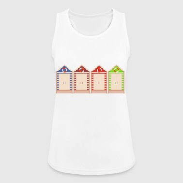 beach strand summer sommer vacation urlaub32 - Frauen Tank Top atmungsaktiv