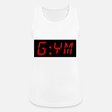 Funny gym time - Women's Breathable Tank Top