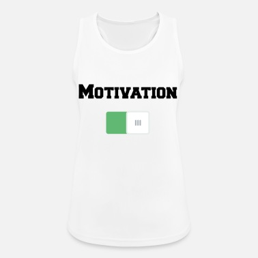 Motivation Motivation On Motivations Motiv Weiss - Women's Sport Tank Top