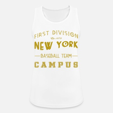Første Division Første Division New York Baseball Team Campus - Sports tanktop dame
