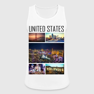 State United States - United States - Women's Breathable Tank Top
