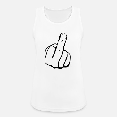 Middle Finger - Women's Sport Tank Top