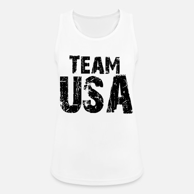 Team Usa Proverbi, USA, Team USA, divertimento - Top da donna traspirante