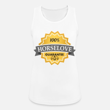 100 Horselove Horse Love - Women's Sport Tank Top
