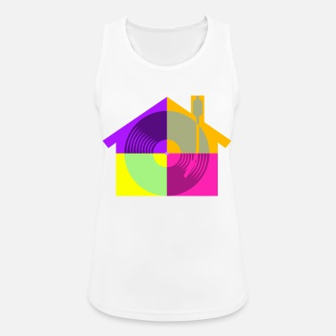 House House Music - Women's Breathable Tank Top