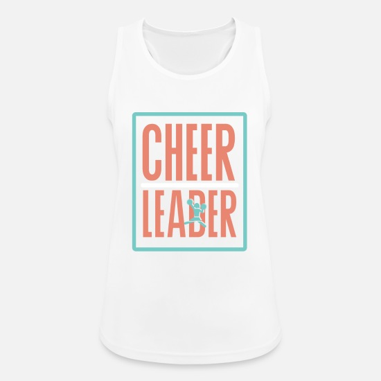 Dancing Tank Tops - Cheer - Women's Sport Tank Top white