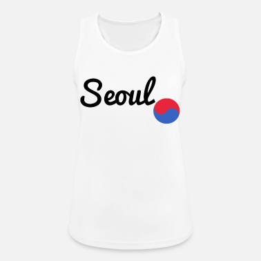 Korean Seoul black - Women's Sport Tank Top