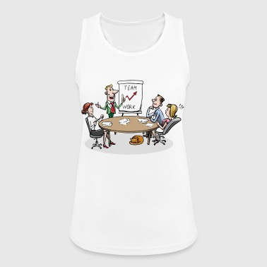 Team meeting team meeting - Women's Breathable Tank Top