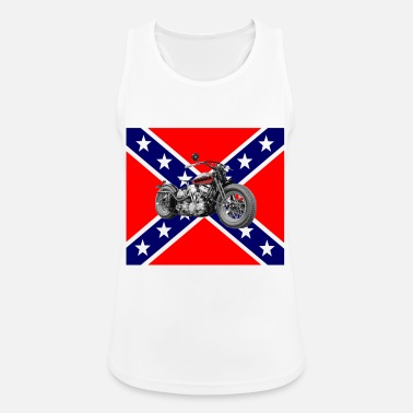 Rebel bobber rebel flag - Women's Sport Tank Top