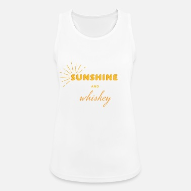 Sunshine and Whiskey - Women's Sport Tank Top